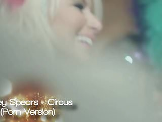 Carmen luvana double penetration Britney spears - circus porn version