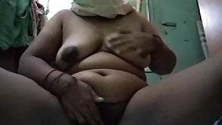 Parvati aunty showing boobs and chiut