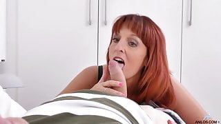 Red haired woman with dirty mind who like to have casual sex