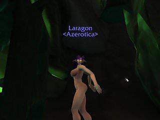 Night elf adult - Night elf bimbo dancing in argus