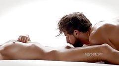 Sensual massage and love making