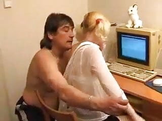 Fat daddy fucking Bkr fucking her fat daddy
