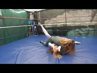 Womens sexy wrestling - Sexy spandex wrestling