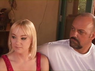 Sucking cocks a married mans dream - Hot married blonde babe gets on her knees and sucks a massive cock then fucks