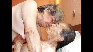 Dirty old women, nasty hairy pussies pic compilation