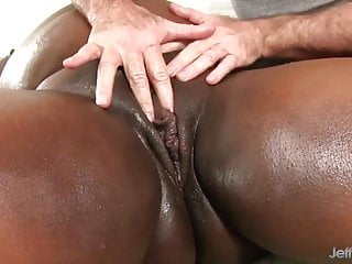 Beautiful tit compilation video Jeffs models - fat black beauties rubdown compilation 1