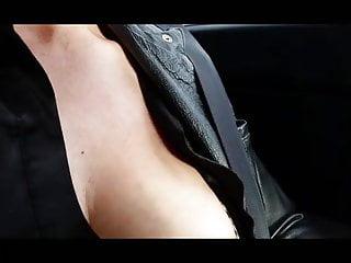 Girls flash boobs in cars Flashing my boobs in car