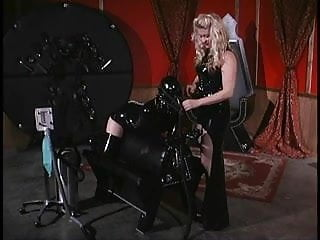 Latex femdom lesbians video gallery - Blond mistress locks her slave in a chest