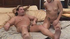 Stud and hot brunette eat each other out in the 69 position