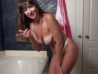 Mother fucking girl American mother with saggy tits needs a good fuck