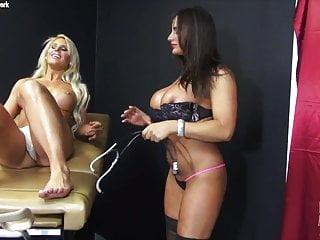 Adult actress avalon - Nikki jackson and megan avalon play doctor