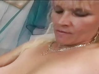 Disgusting dildo whore - Hairy granny gabi is a dirty whore