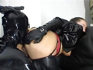 Latex lab gloves Alex d leather gloves compilation