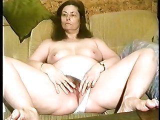 Lien van de kelder nude Annette van de venn is gaping her wet pussy on the sofa