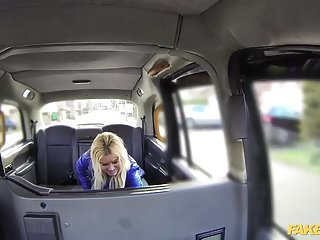Leggs pantyhose discounted Fake taxi blonde gets backseat discount