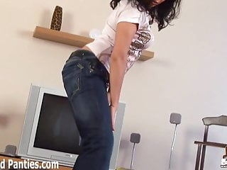 Gay porn skinny jeans Lanza teasing in a tight pair of skinny jeans