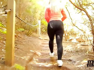 Fucking mountain girls Juicy big ass walking and fucking in the anaga mountains