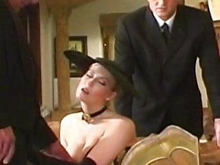 Michelle b anal British slut michelle b in a dp scene in stockings
