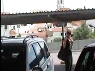 Parking blowjob facial cumshot Hot teacher after school bj in parking lot