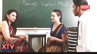 School Teacher With Student