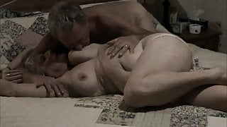 Mature wife stripped naked and fingered