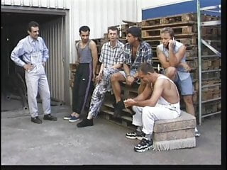 Sex sluts teen gang bang Older blonde slut gets gang banged by younger construction workers