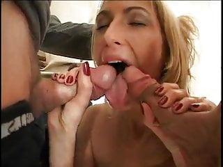 Sophie anderton sexy Sexy blonde slut sophie in hot interracial gangbang