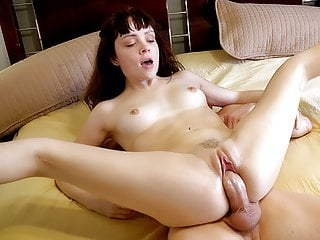 Horny Teen Wakes To A Big Cock In Her Pussy