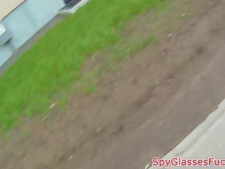 Busty babysitter spycam - Busty babe pov banged by stranger on spycam