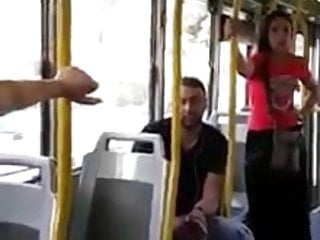 The sex inspectors - Gipsy shows pussy to bribe ticket inspector on italian bus