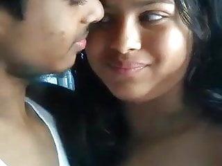 Gay guy kissing naked Indian guy kissing