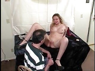 Cunt pics pussy shaved - Cute young shaved pussy girl sucks dick and gets her cunt stretched by big toys