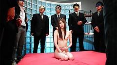 Sweet girl Rina Serizawa got gangbanged the other day