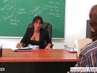 Lezley zen foot fetish Busty brunette teacher lezley zen fuck in classroom