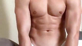muscled twink cum