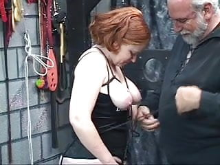 Lingerie bdsm pix Redhead slut kirsten sucks her masters cock then gets fucked and spanked