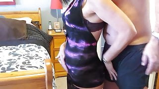 Double Blowjob & Anal Play With Wife's Lover