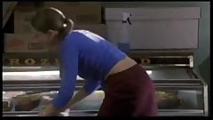Madchen Amick takes off her panties