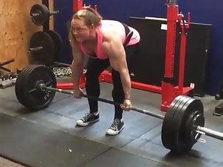 Lion lifts womans breast Kristy dead lift