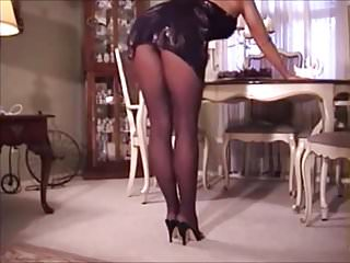 Michelle rodriguez orgasm - Michelle in black pantyhose