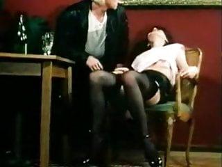 Mff cum shot - Bushy slut and horny boyfriend invite slut for hot 3som mff