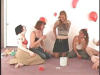 College sex dare - Strip truth or dare college sex game