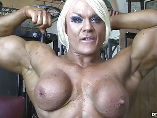 Bondage naked powered by phpbb Powerful naked bodybuilder shows her big clit in the gym