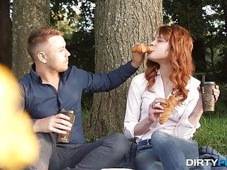 Redhead hot blowjob Dirty flix - mary solaris - natural redhead hot lovemaking