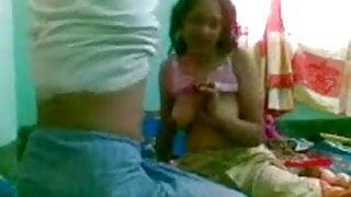 Bangladeshi couple, lots of moaning