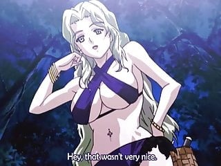 Strange kind of woman hentai Takeshi-chan cum in a strange girl in the jungle