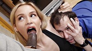 Humiliated cuckold husband