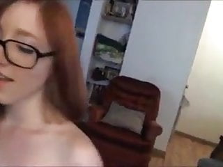 Girls with glasses covered in cum Cum covered glasses