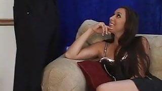 Kaylynn Swallows some BBC seed