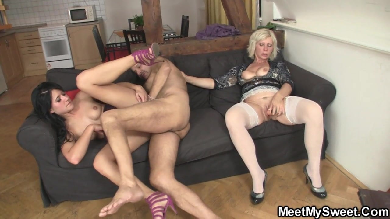 Old Man Abused Teen Big Tits